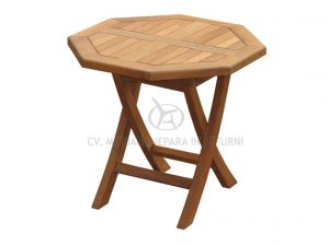 Octagonal Folding Coffee Table Indonesia Furniture Manufacturer