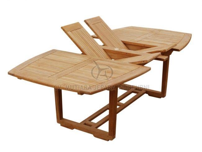 Urva Double Extend Table; Indonesia Furniture